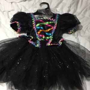 Other - 2T witch costume with tiny witch headband NWT